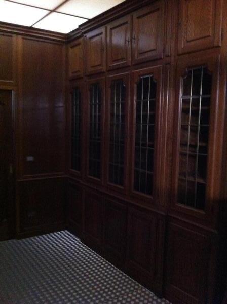 Allestimento x ufficio in legno massello in ufficio for Allestimento ufficio