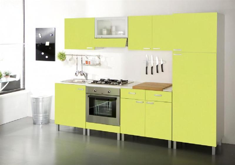 Basi e pensili cucina doremi verde attrezzature - Pensili per cucine ...