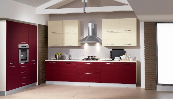 Cucina net smart bordeaux cucine arredamento - Cucina bordeaux ...