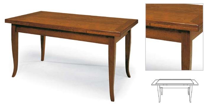 Stock tavoli in legno allungabili compralo for Produttori tavoli allungabili