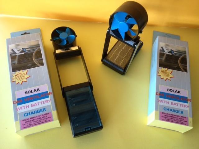 Ventilatore Con Pannello Solare : Stock ventilatori portatili con pannello solare