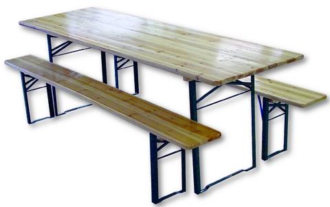 Panche in legno pieghevoli abbacchiatori pneumatici for Gambe tavolo legno leroy merlin