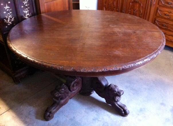 Tavolo Ovale Antico : Tavolo ovale antico mobili vintage collezionismo comfal
