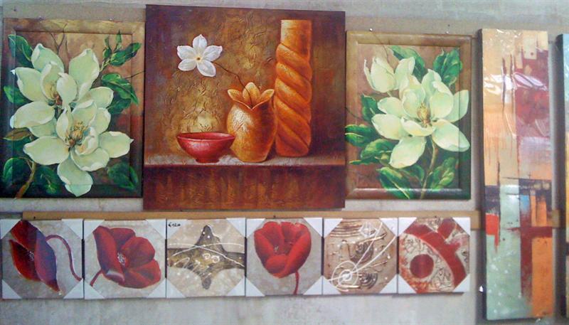 Quadri etnici e moderni olio su tela quadri stampe for Stampe d arredo