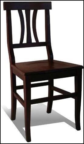 sedia arte povera noce legno e paglia - TAVOLI & SEDIE ...